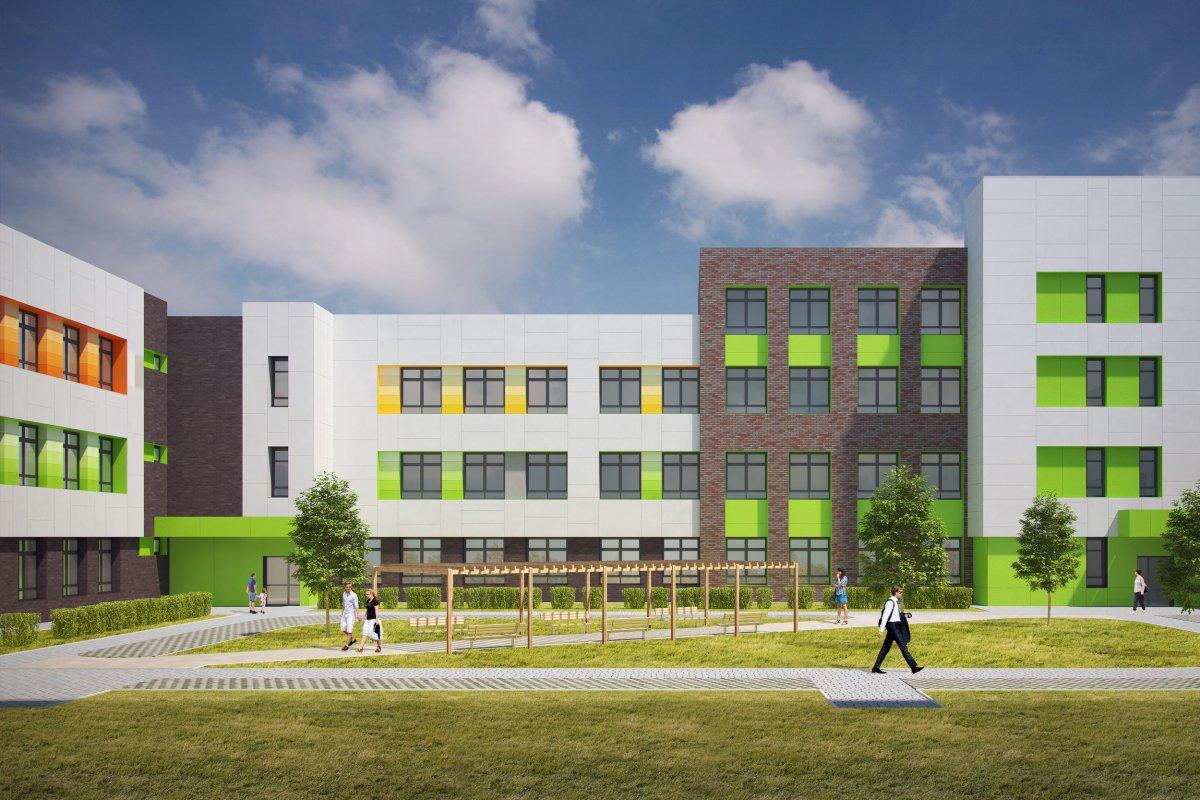 Картинки новых школ