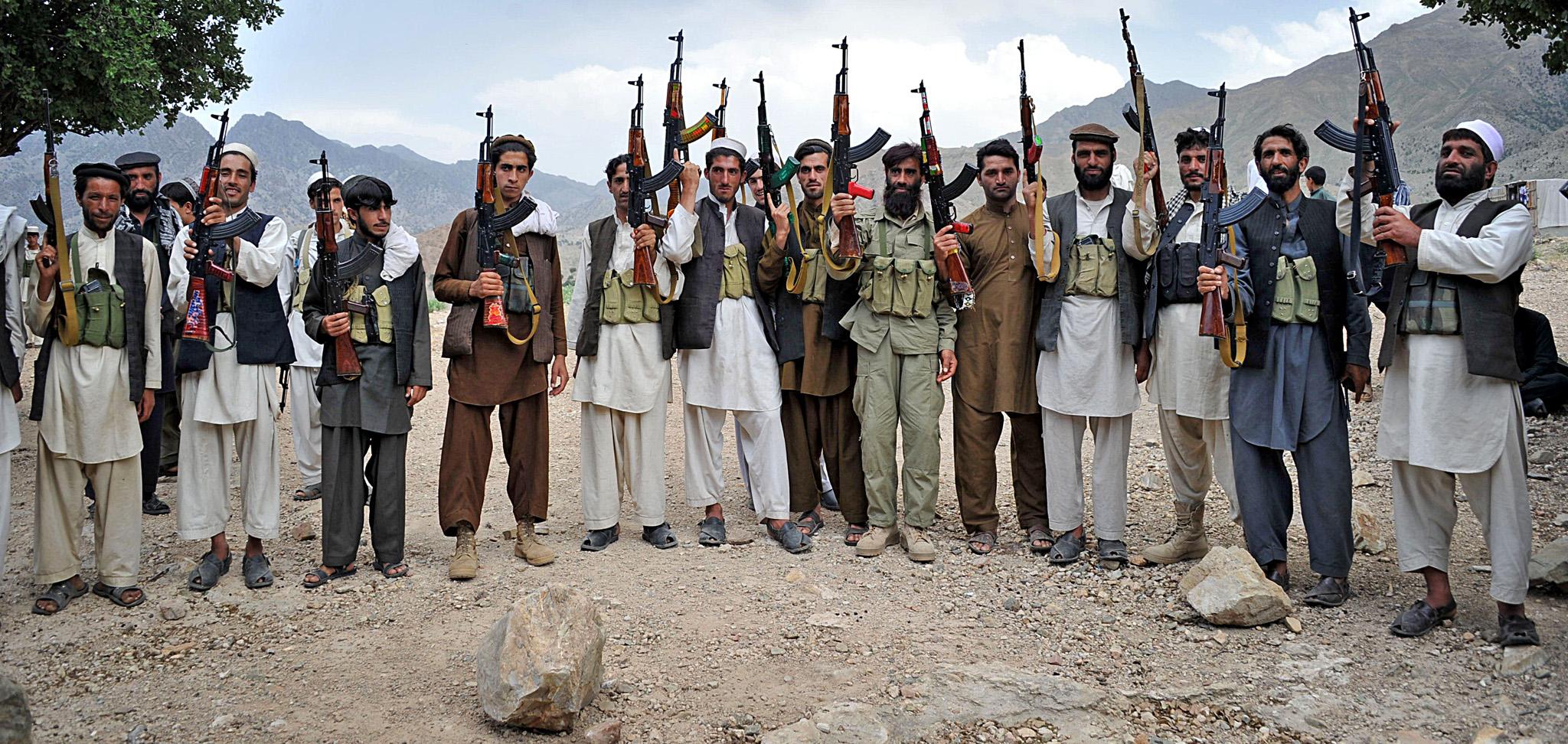 Фото боевиков афганские