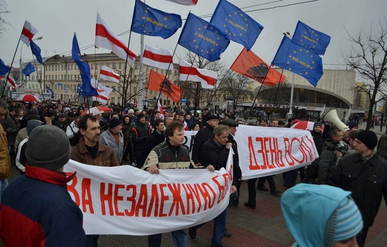 Как сообщалось, в субботу в минске, гомеле, витебске, гродно и бресте прошли акции оппозиции, приуроченные к празднованию