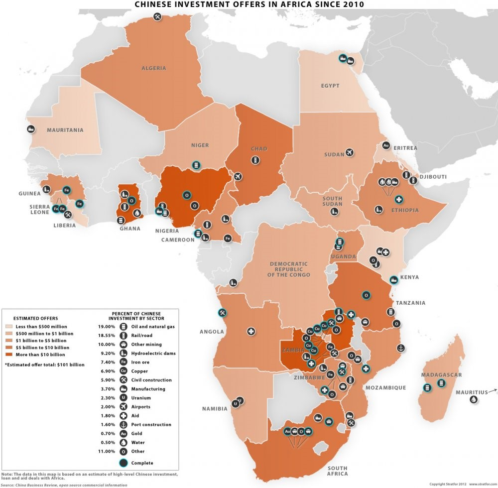 china accelerates investments in africa